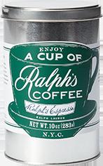 Tin of Ralph's Espresso.