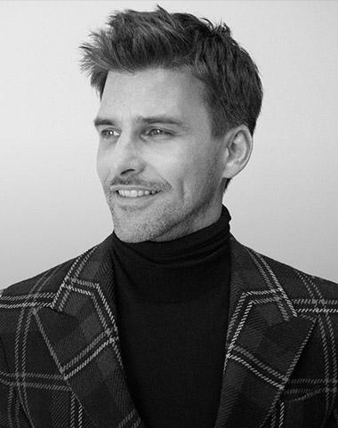 Photograph of Johannes Huebl