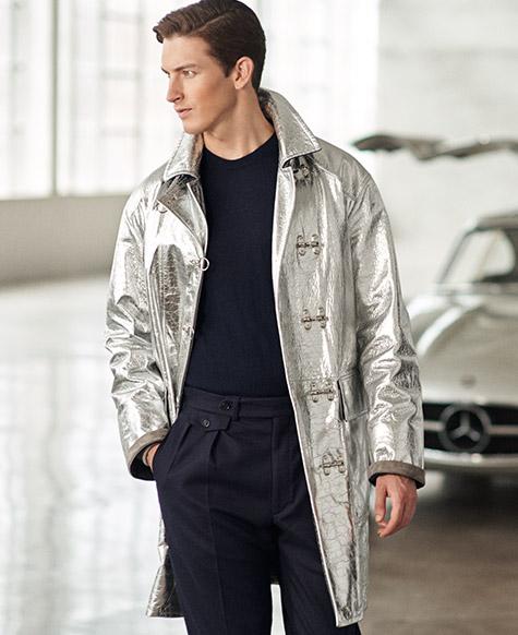 Maglia RLX in lana merino a coste